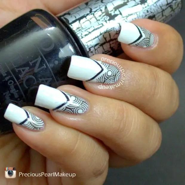 Amazing Black And White Nail Designs 17 Unique Art Ideas You Will Love