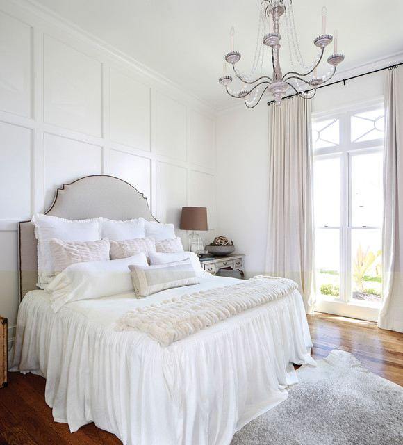 17 Elegant White Bedroom Design Ideas