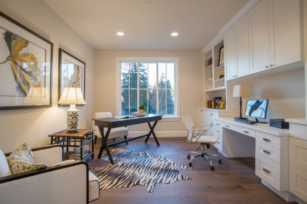 Elegant Home Office 20 Functional And Sophisticated