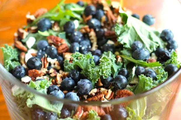 Spinach Vinaigrette Mushroom Salad Strawberry