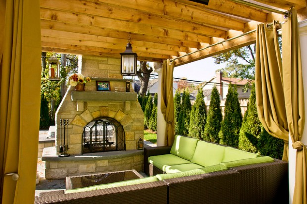 A Piece Of Heaven In Your Backyard 17 Pergola Curtain