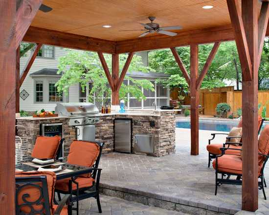48+ Backyard Patio Kitchen Ideas Gif