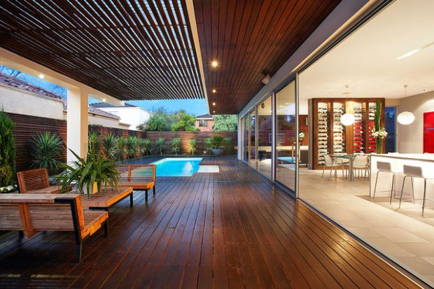 21 Stunning Indoor- Outdoor Living Spaces - Style Motivation on Indoor Outdoor Living Spaces id=99349