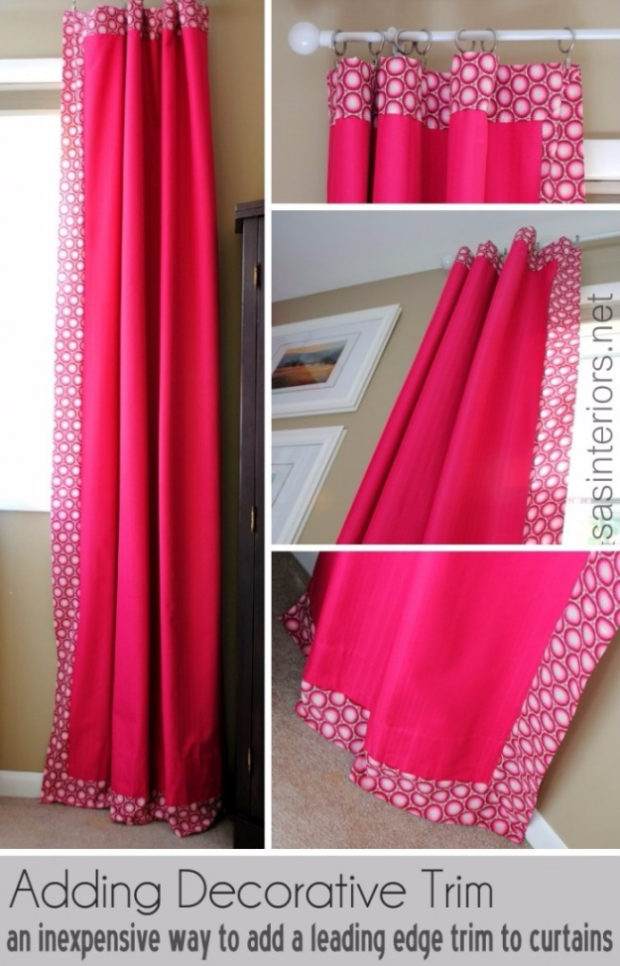 16 Cool, Easy and Cheap DIY Ideas To Dress Up Your Windows