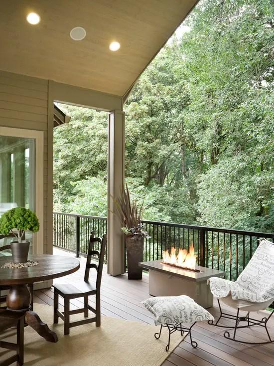 16 Cozy Rustic Balcony Design And Decor Ideas