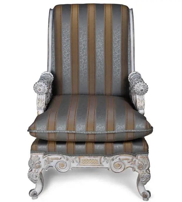 Create An Elusive Effect Using Shabby Chic Armchair