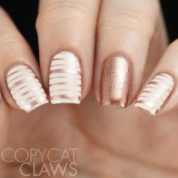 16 Great Work Appropriate Nail Art Ideas
