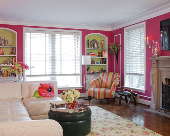 Colorful Preppy Home 17 Living Room Design and Decor Ideas