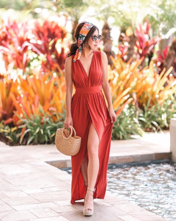 18 Maxi Dress Outfit Ideas for Cute Summer Look