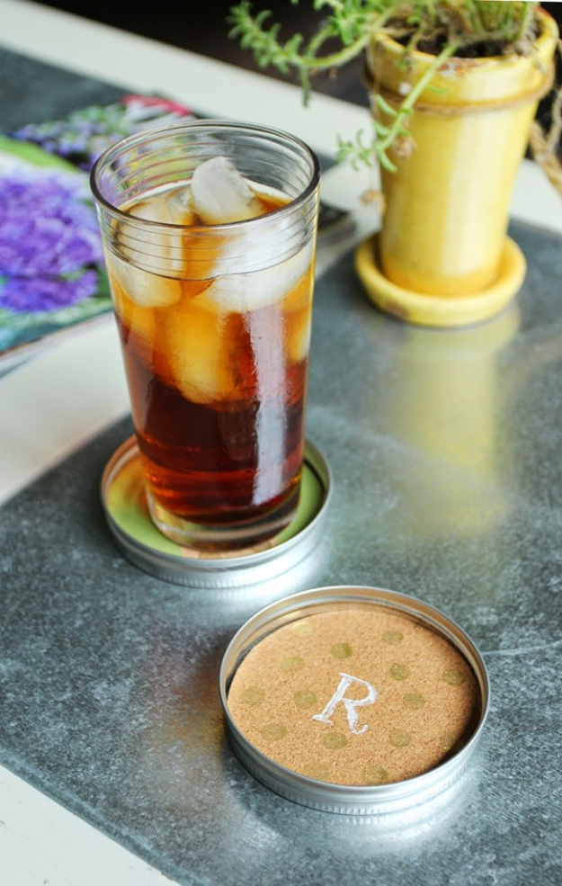 15 Cool DIY Coasters That You Should Craft Right Now