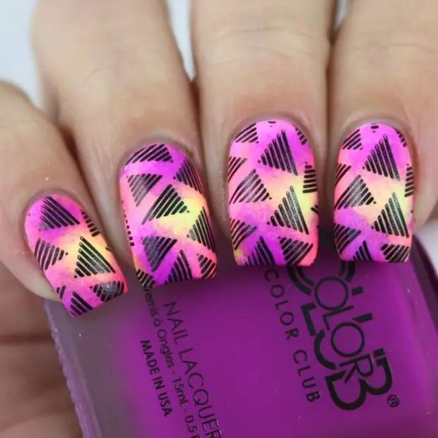 Creative Neon Nail Art ideas Perfect for Summer