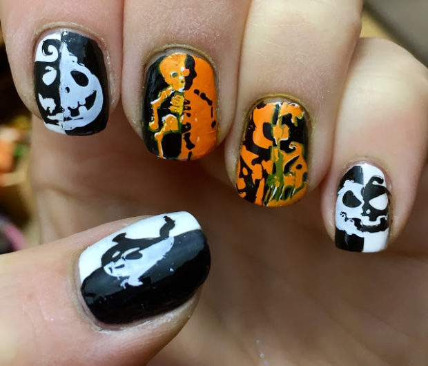 Easy Last Minute Ideas for Spooktacular Halloween Nails