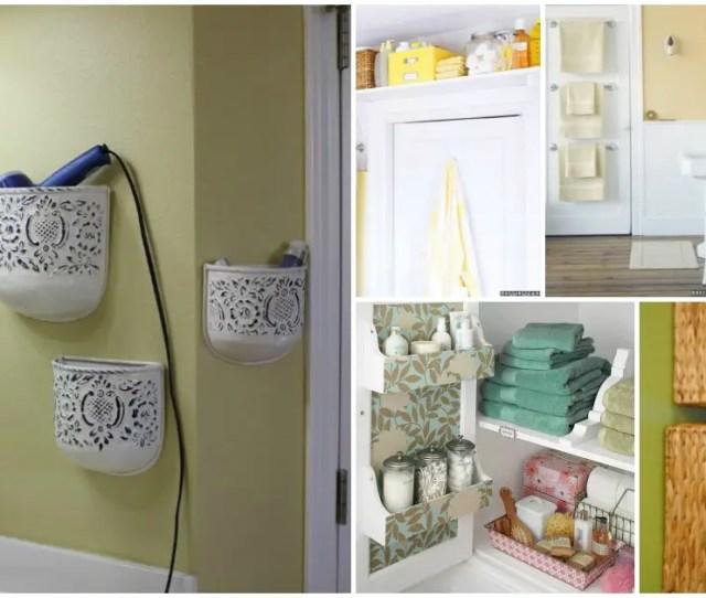 Great Diy Bathroom Storage Hacks And Organization Solutions Part  Style Motivation