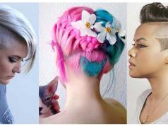 undercut hairstyles with hair tattoos