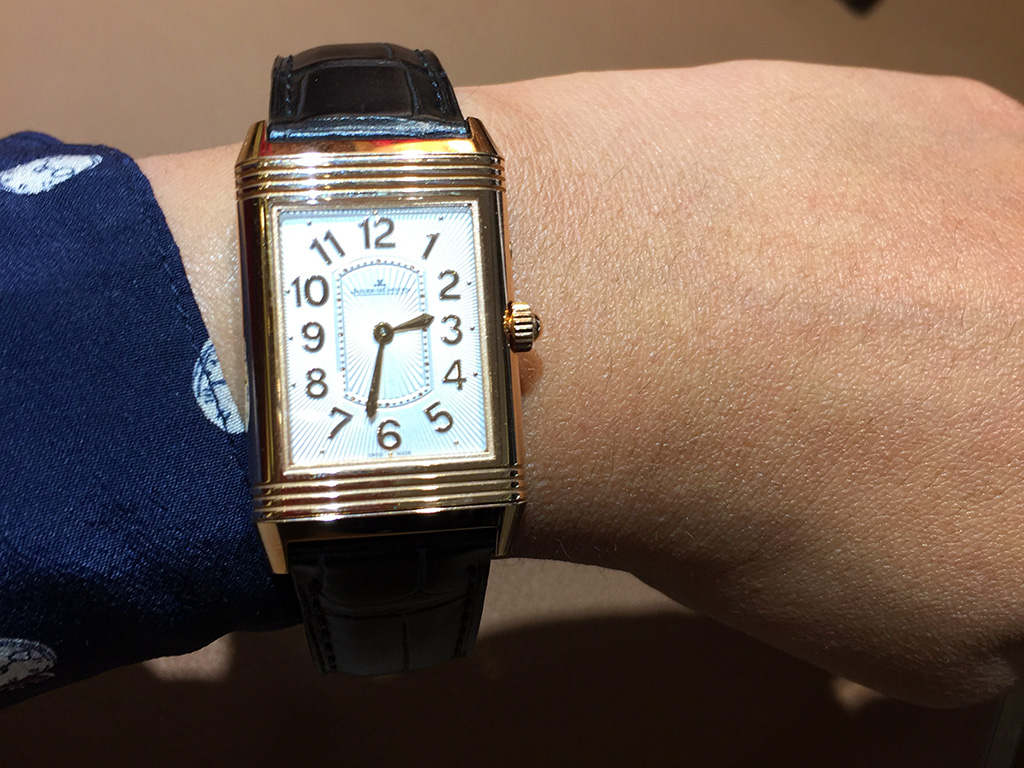 JLC Reverso with flipped look