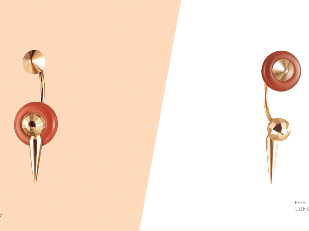 Dual Earrings From Mia by Tanishq