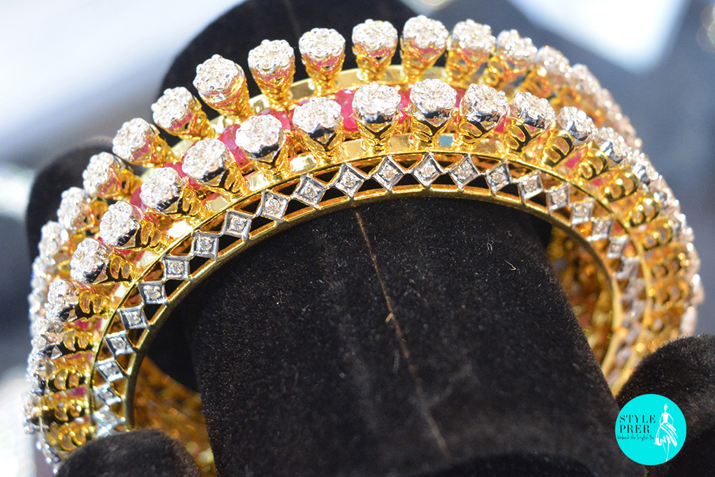 Diamond Pacheli Bangles- Renuka Fine Jewels