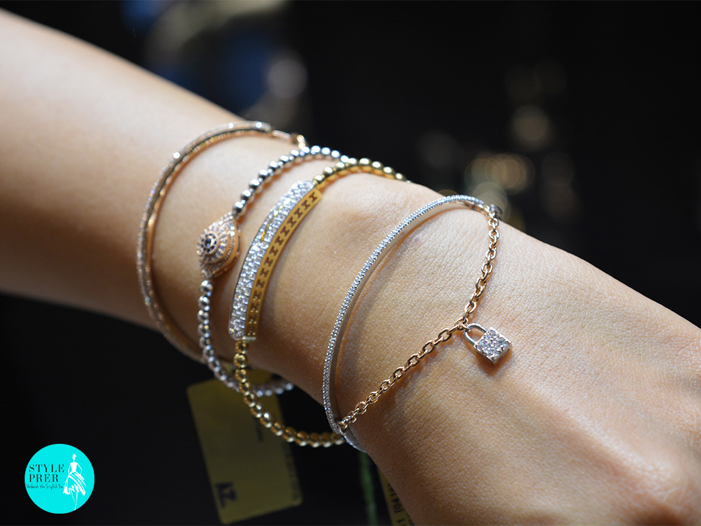 Daily Wear Multiple Diamond Bracelets- Gehna Jewellers