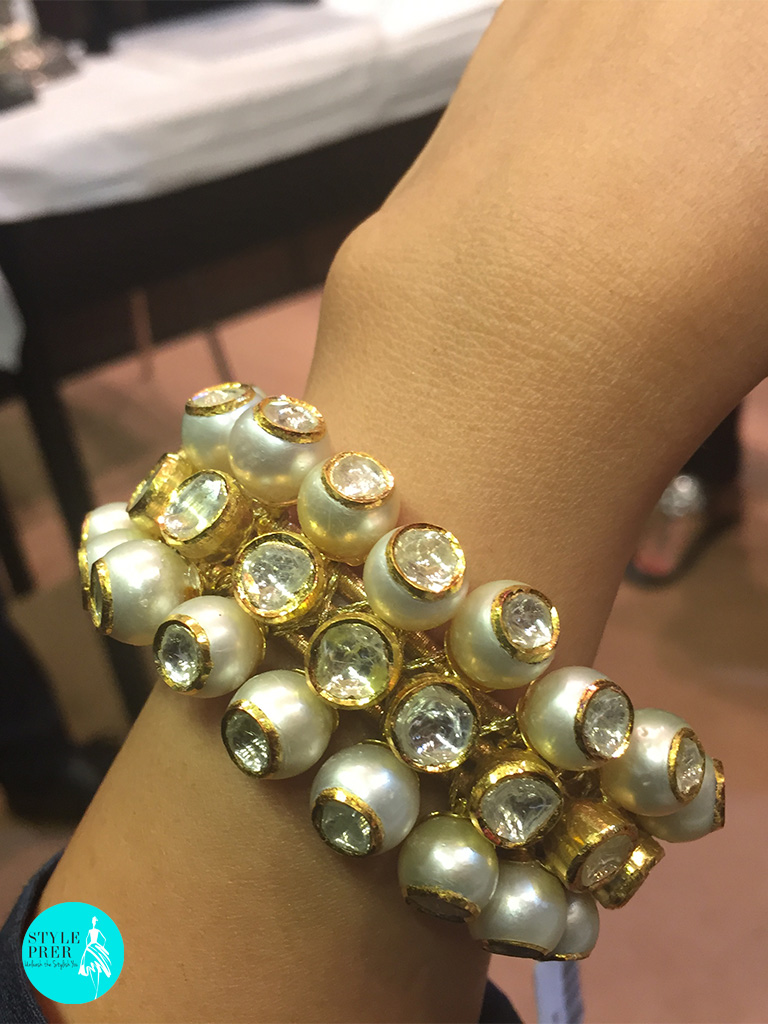 South Sea Pearls With Polki-Rambhajo Jewellers.