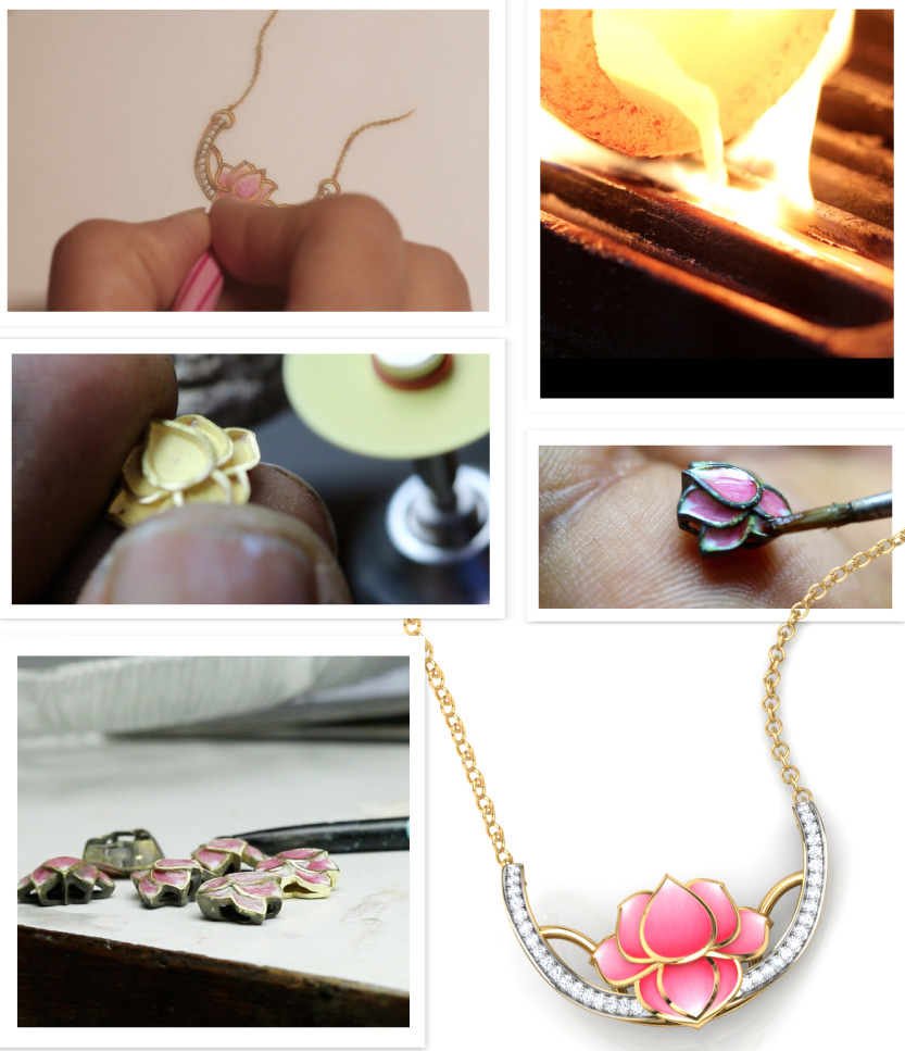 The Journey Of A Jewelry, Lotus By Caratlane.