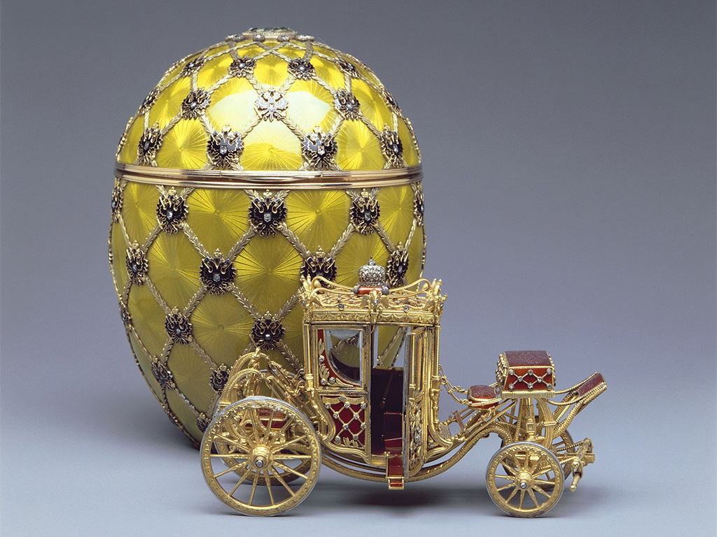 Fabergé Coronation Egg 1897, Courtesy of The Forbes Collection.