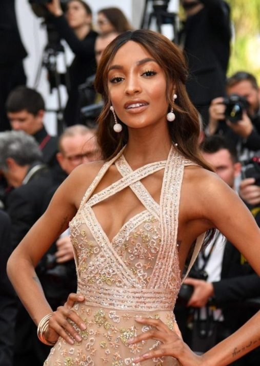 Jordan Dunn In DeGrisogono Jewelry At Cannes