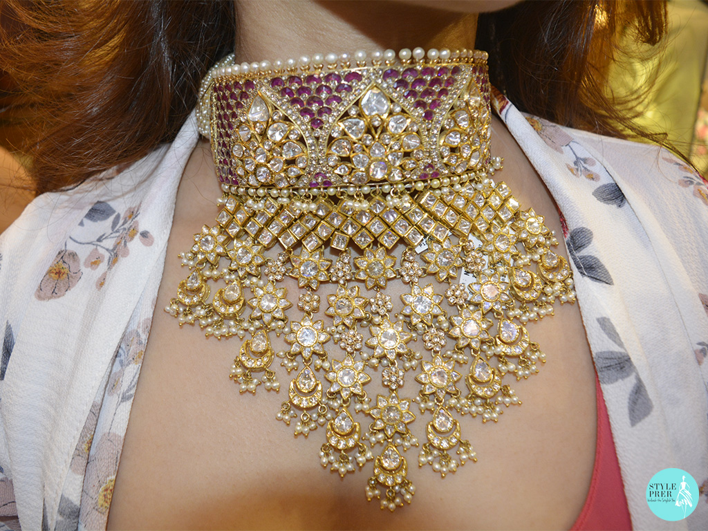 Inspired From Indian Motifs That Speak Royalty Is A Necklace Set By Rare Heritage By Mehta Emporium