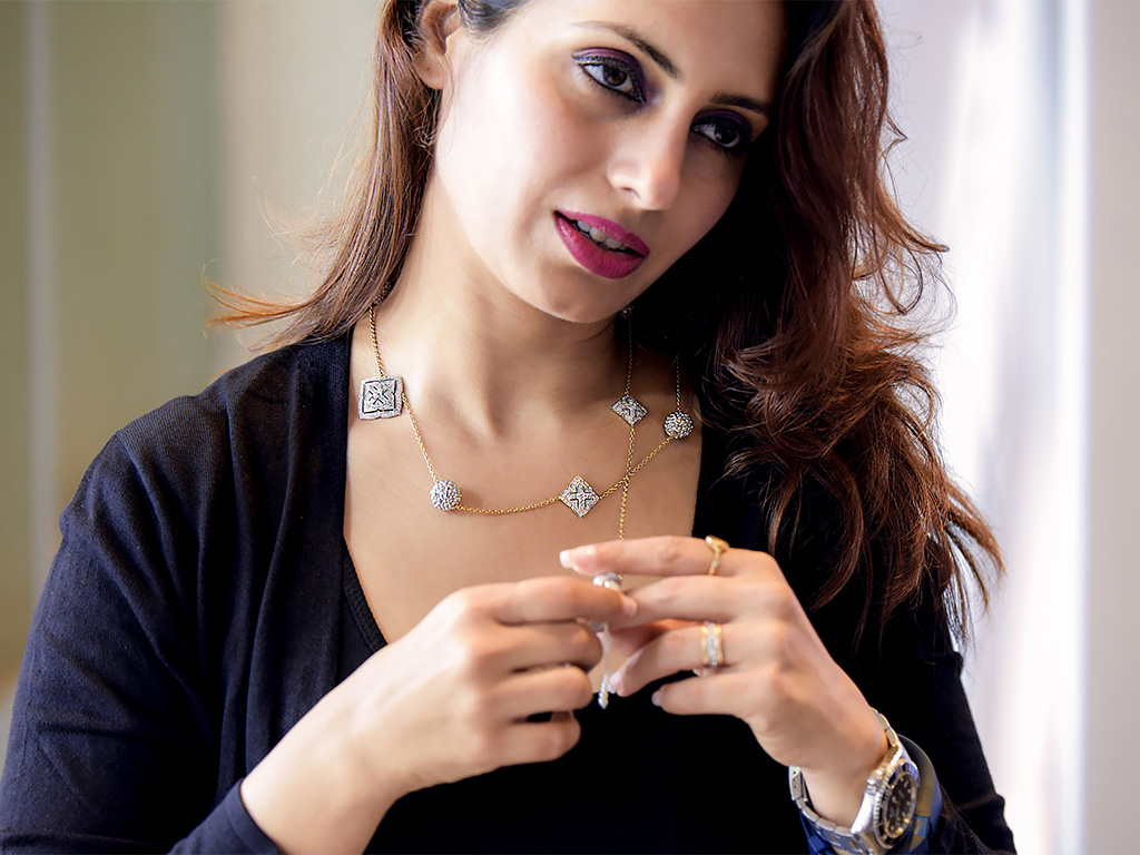 Diamond Lariott With Forevermark Diamonds By NAC Jewellers