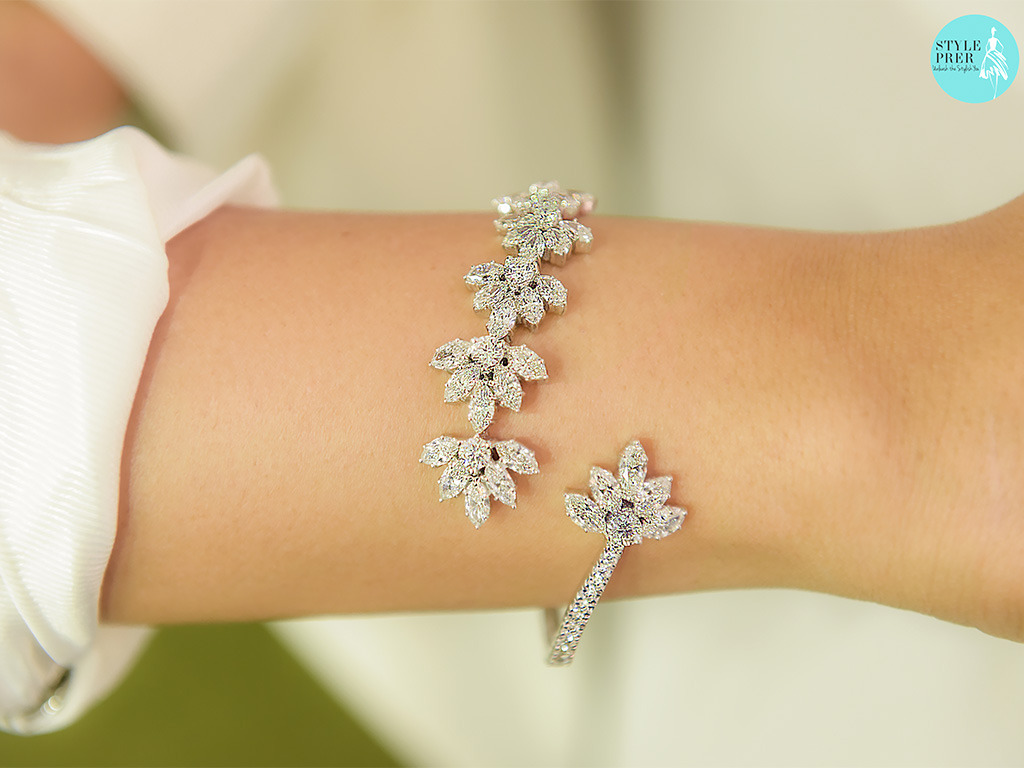 Fancy Forevermark Diamonds Set In A Bracelet By Sanjay Garg