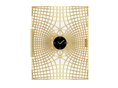 The Wheel Of Energy, A Gold Cuff Inspired From The Energies Of A Human Body By Krishma Jain