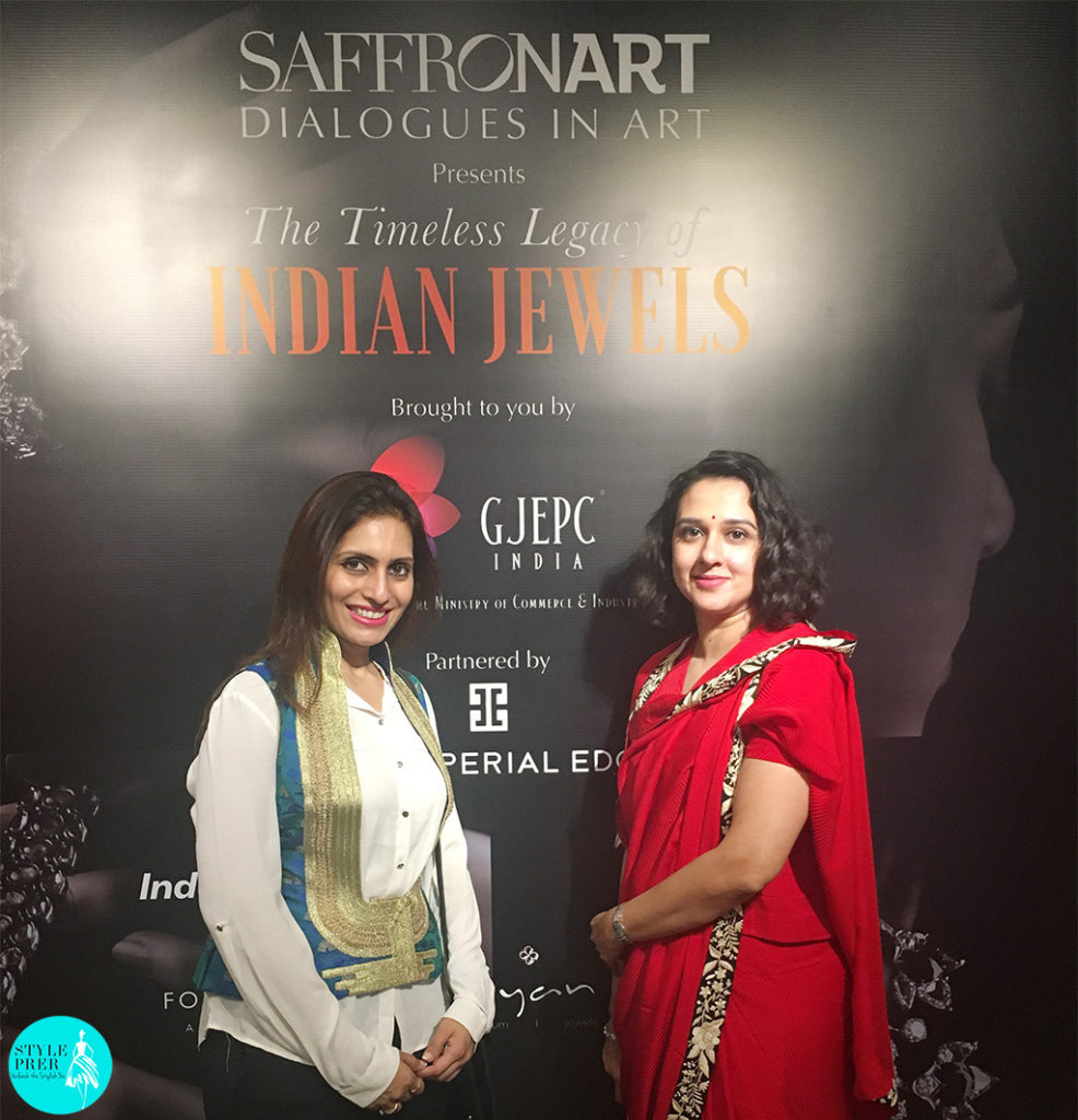 Prernaa Makhariaa With Maharani Radhikaraje Gaekwad Talking About Revival Of Mens Jewellery In India And The Jewellery She Enjoys Wearing