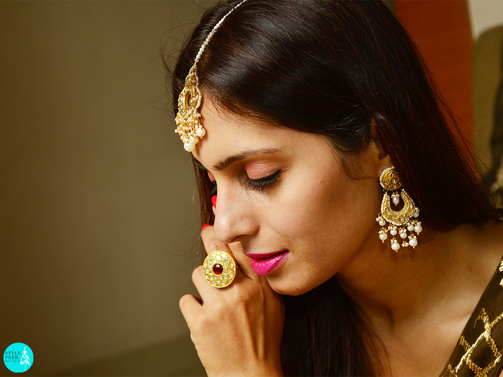 Polki And Gold Jewellery By Tyaani On Velvetcase