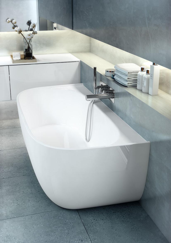 8 baignoires semi ilots le design