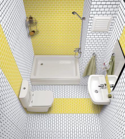 joint carrelage couleur pour une salle de bains originale styles de bain