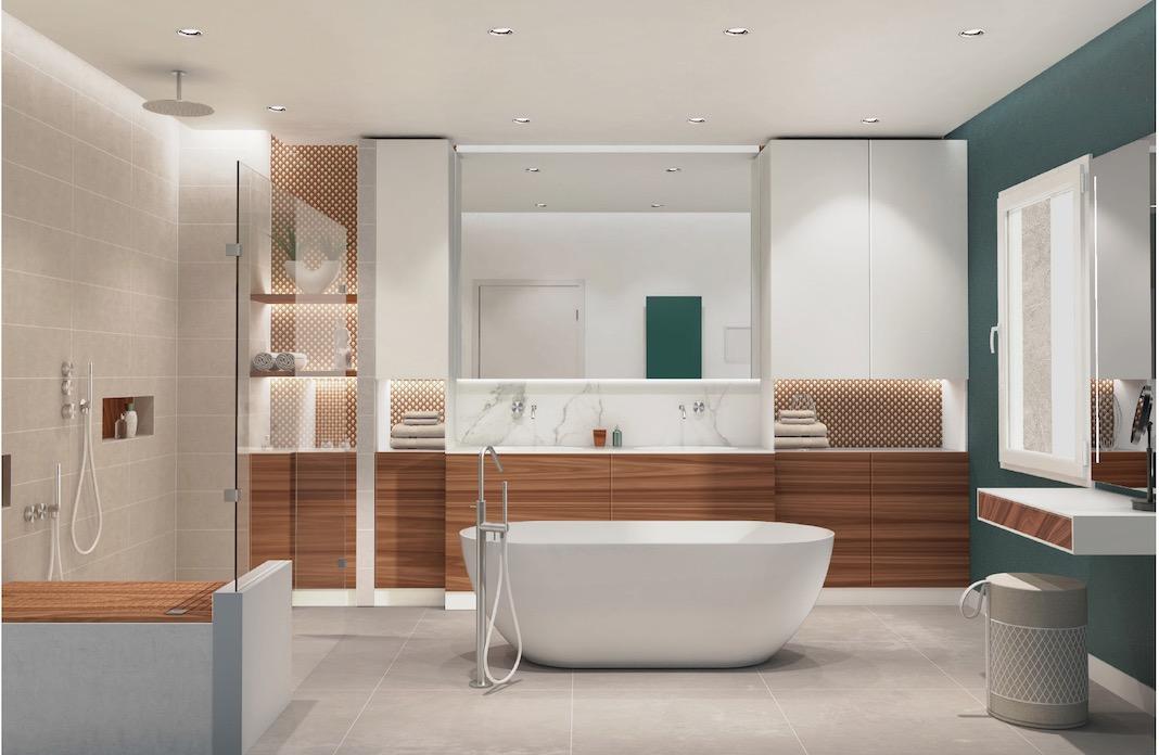 une salle de bains qui ne manque pas de