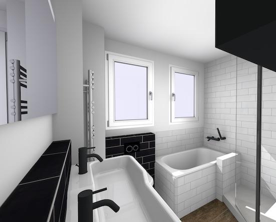 amenager une petite salle de bains d