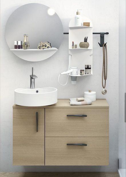 petits meubles de salle de bain pour