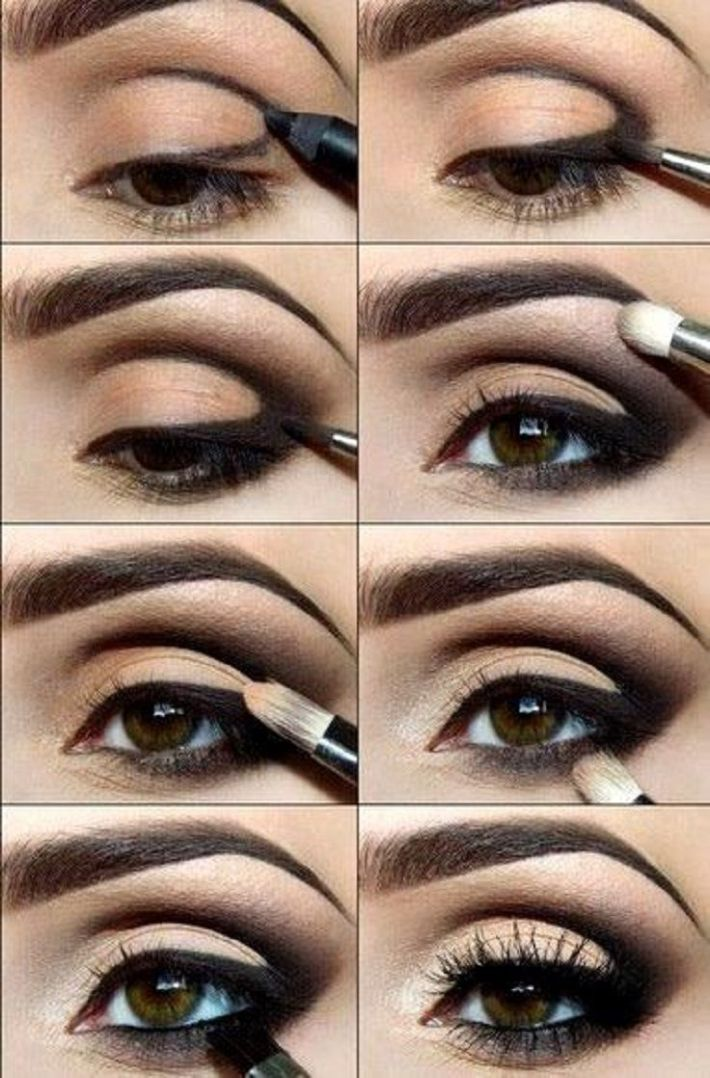 best smokey eye makeup tutorial step by step ideas with pictures
