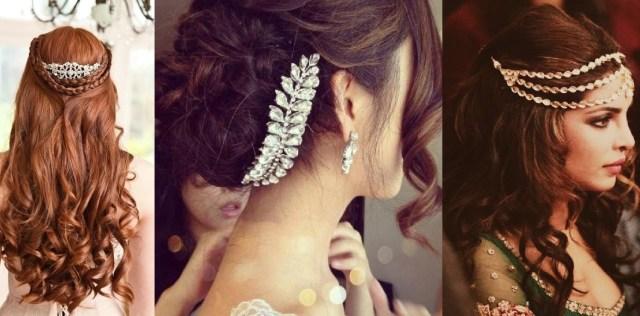 bridal wedding hairstyles trends 2016-2017