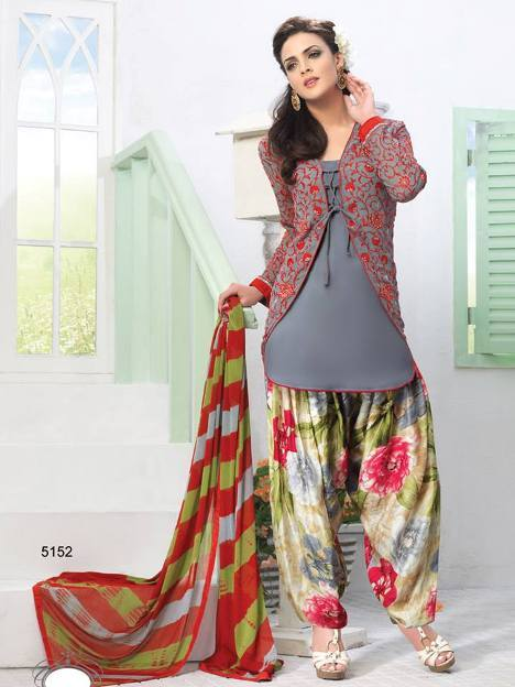 Latest Indian Party Wear Dresses Designs Collection 2018