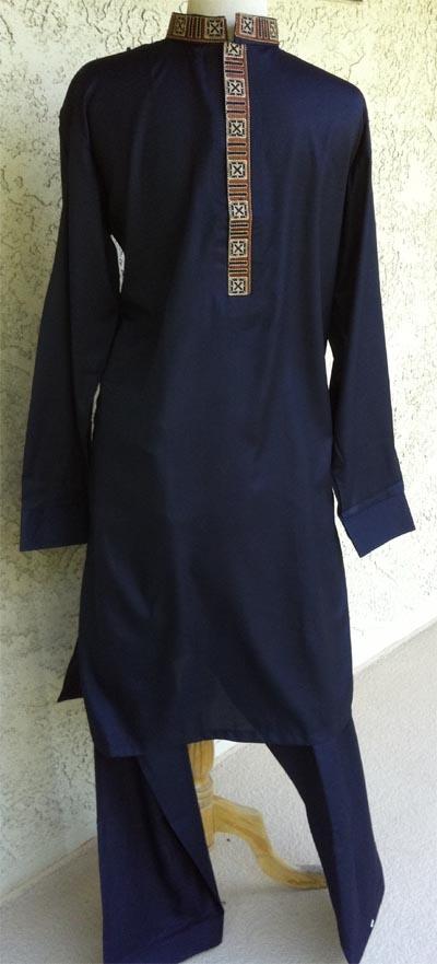 Latest Men Eid Formal Embroidered Kurta Designs Shalwar