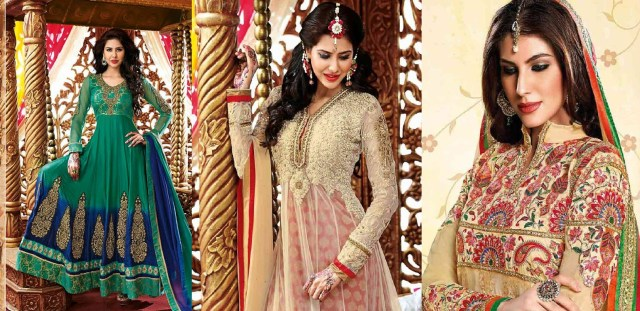 beautiful indian party wear anarkali dresses collection 2019