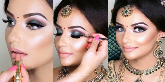 indian bridal wedding makeup step by step tutorial 2020-21