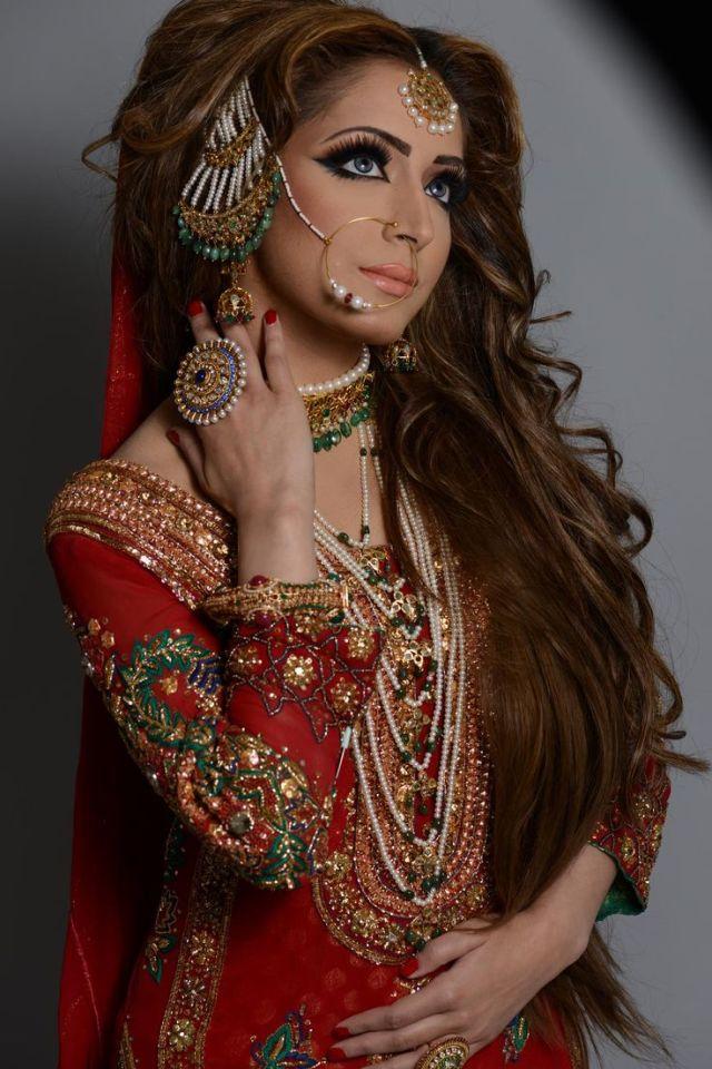 latest pakistani bridal wedding hairstyles trends 2018-2019