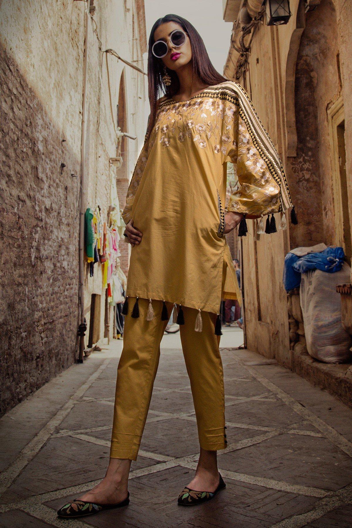 Yellow Dress Indian