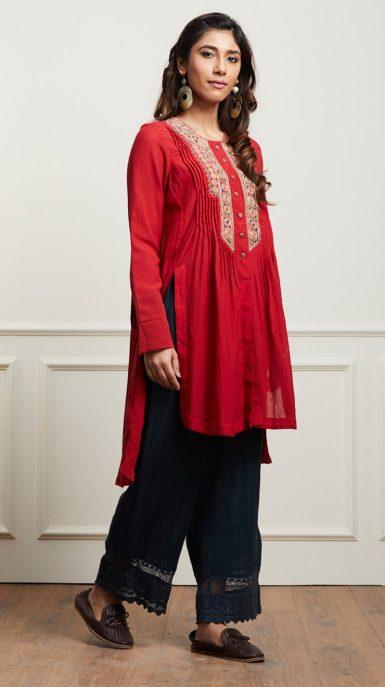 Indian Stylish Tunics Kurtis Ritu Kumar Collection 2018 2019