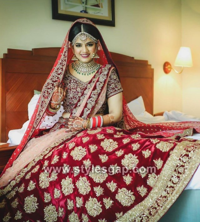 latest indian bridal dressing trends 2019-20 makeup jewelry