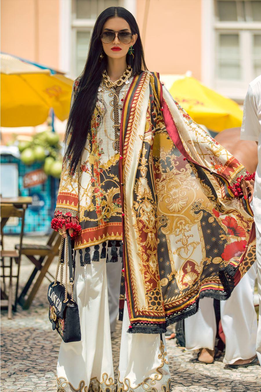 Elan Lawn Spring Summer Collection 2018 Luxury Designer