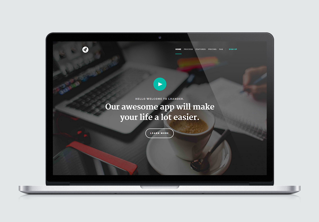 free landing page templates crafted using htm5 css3 styleshout