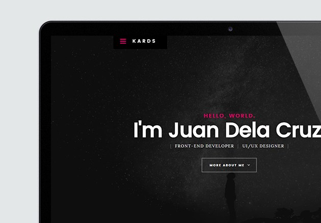 Grabs Full Pixels » Hola   High Quality Free Website Template by Styleshout Kards